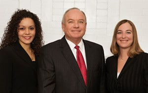 Domestic Attorneys Lauren Arizaga-Womble, Eddie O'Neal, Courtney Hull