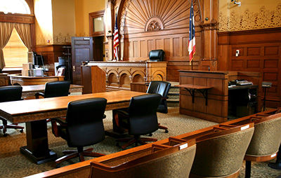 court room - Twiford Law Firm