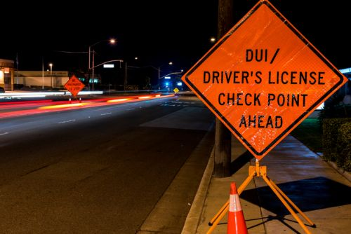 North Carolina DWI Check Point