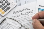 restraining order request